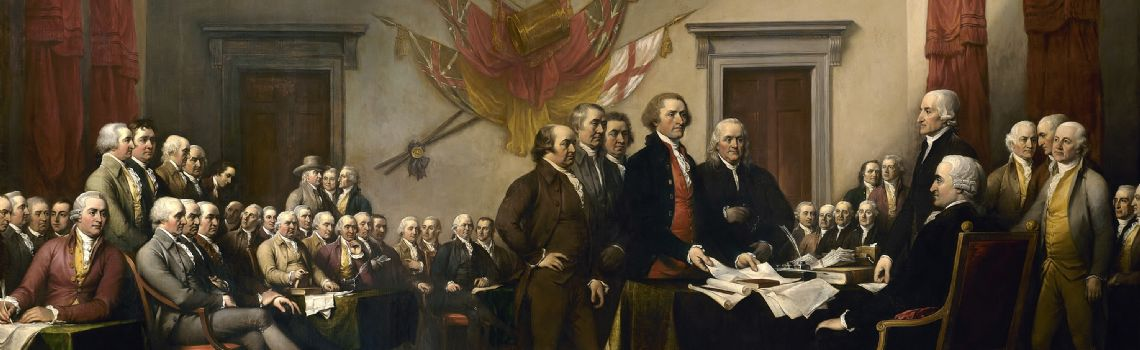 Declaration independence di John Trumbull - US Capitol
